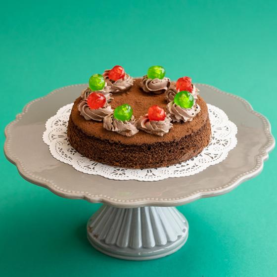 半熟チョコチーズケーキ
